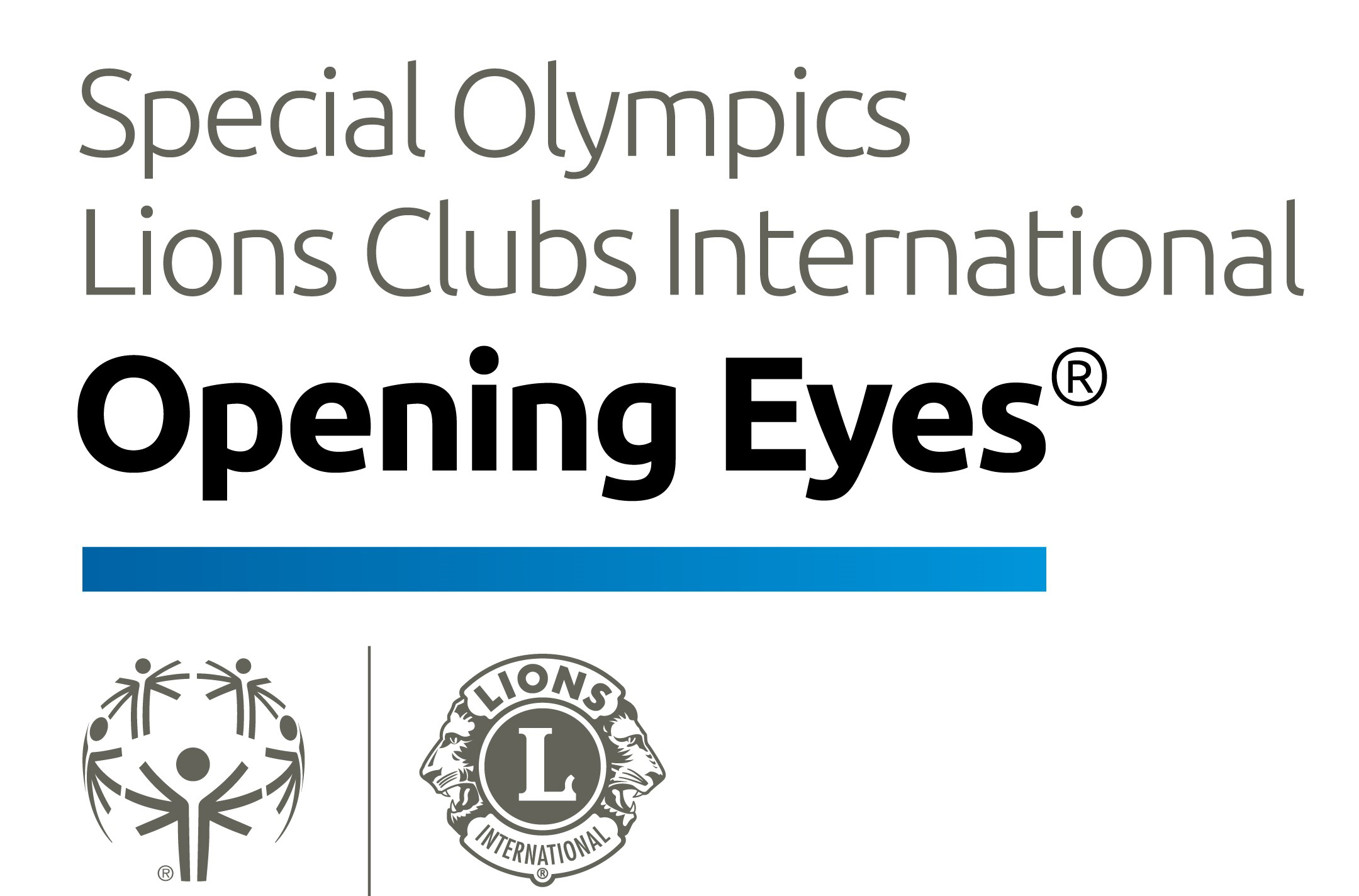 Special Olympics, Lions Clubs International, Healthy Athletes Openeing Eyes